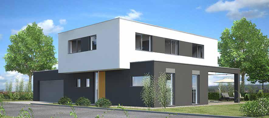 Postler bau ein haus ein wort for Haus modern flachdach